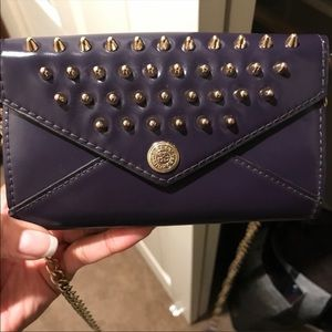 Rebecca minkoff crossbody studded purse/wallet